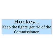 Keep The Fights... Bumper Bumper Sticker