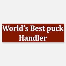 Puck Handler Bumper Bumper Bumper Sticker