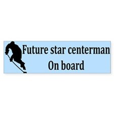 Future Centerman Bumper Bumper Sticker