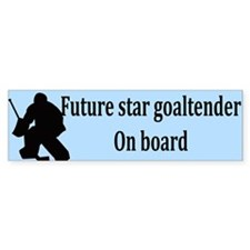 Future Goaltender Bumper Bumper Sticker