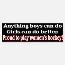 Anything Boys Can Do... Bumper Bumper Bumper Sticker