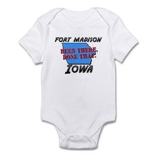 fort madison iowa - been there, done that Infant B