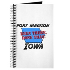 fort madison iowa - been there, done that Journal