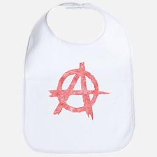 Vintage Anarachy Symbol Bib