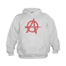 Vintage Anarachy Symbol Hoodie