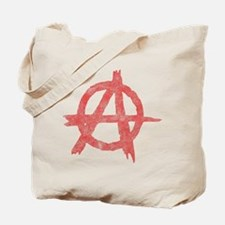 Vintage Anarachy Symbol Tote Bag