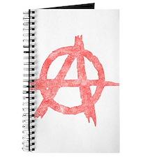 Vintage Anarachy Symbol Journal