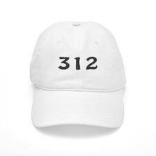 312 Area Code Baseball Cap