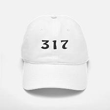 317 Area Code Baseball Baseball Cap
