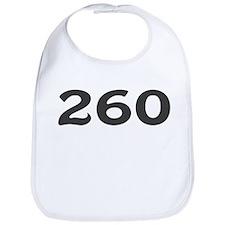 260 Area Code Bib