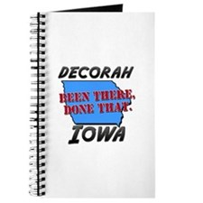 decorah iowa - been there, done that Journal