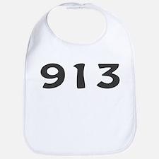 913 Area Code Bib