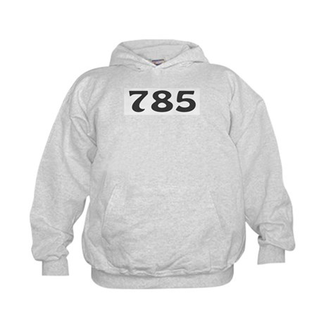 785 Area Code Kids Hoodie