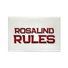 rosalind rules Rectangle Magnet