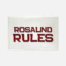 rosalind rules Rectangle Magnet