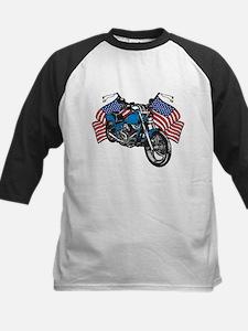 American Biker Kids Baseball Jersey