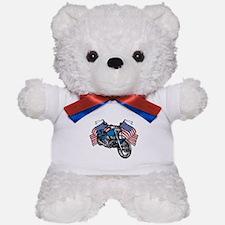 American Biker Teddy Bear
