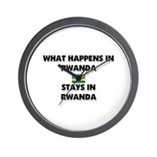 What Happens In RWANDA Stays There Wall Clock