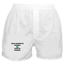 What Happens In RWANDA Stays There Boxer Shorts