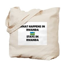 What Happens In RWANDA Stays There Tote Bag