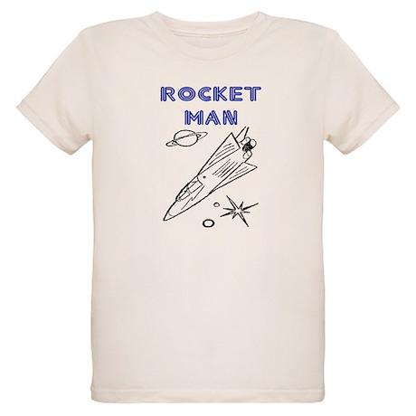 ROCKET MAN Organic Kids T-Shirt