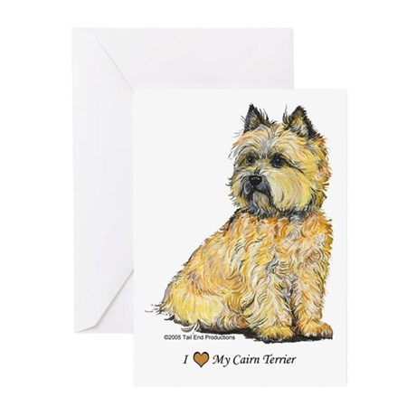 I love my Cairn Greeting Cards (Pk of 10)
