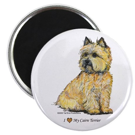 """I love my Cairn 2.25"""" Magnet (100 pack)"""