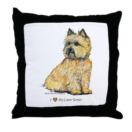 I love my Cairn Throw Pillow