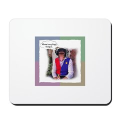 Acadian Pogy Cheque Mousepad