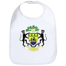 Gabon Coat of Arms Bib