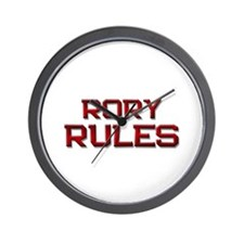 rory rules Wall Clock