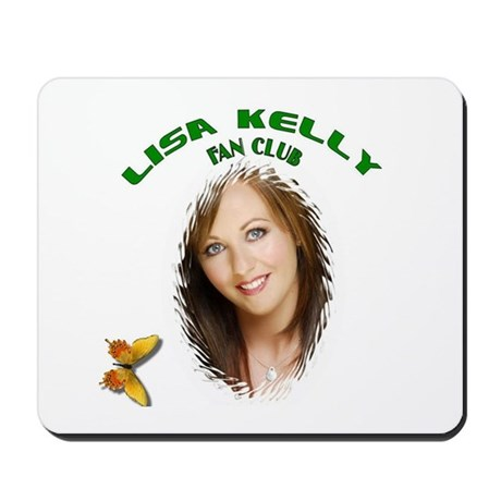Lisa Kelly Fan Club Mousepad