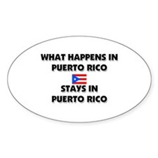 What Happens In PUERTO RICO Stays There Decal