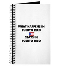 What Happens In PUERTO RICO Stays There Journal