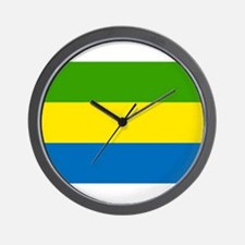 Coat of Arms of Gabon Wall Clock