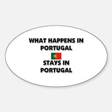 What Happens In PORTUGAL Stays There Decal