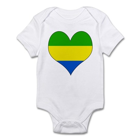 I Love Gabon Infant Bodysuit