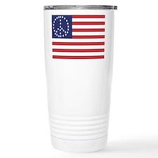 Peace Flag Travel Mug