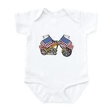 American Chopper Flames Infant Bodysuit