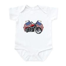 American Biker 3 Infant Bodysuit
