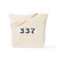 337 Area Code Tote Bag