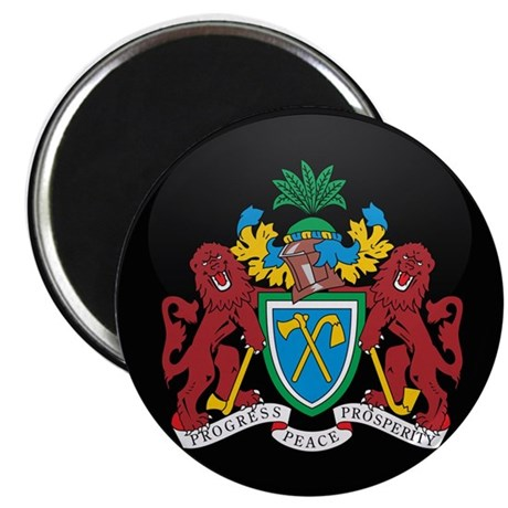 Coat of Arms of Gambia Magnet