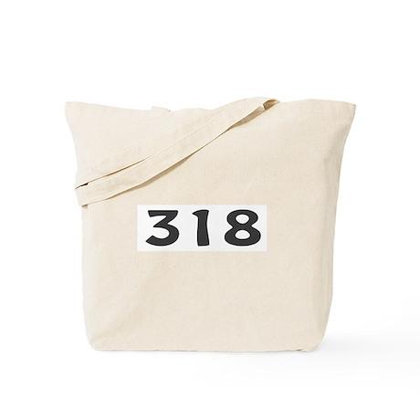 318 Area Code Tote Bag