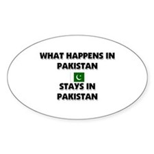 What Happens In PAKISTAN Stays There Decal