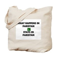 What Happens In PAKISTAN Stays There Tote Bag