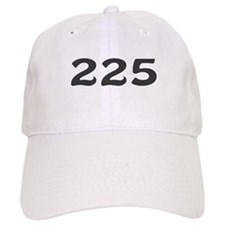 225 Area Code Baseball Baseball Cap