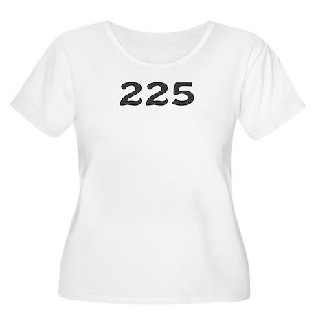 225 Area Code Women's Plus Size Scoop Neck T-Shirt