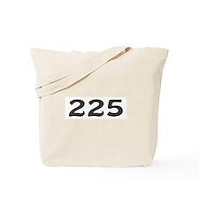 225 Area Code Tote Bag