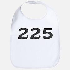 225 Area Code Bib