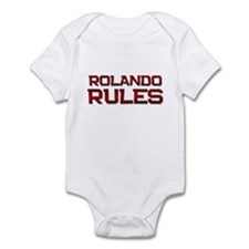 rolando rules Infant Bodysuit
